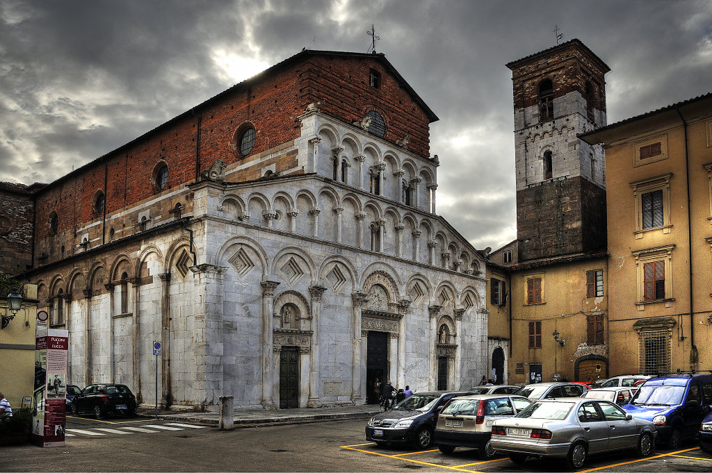 italien- lucca - chiesa santa maria bianca