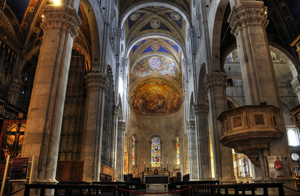 italien- lucca - der dom  / cattedrale di san martino - der alta