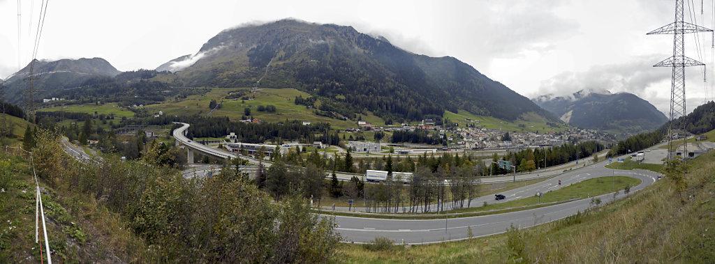 schweiz - airolo - teilpanorama