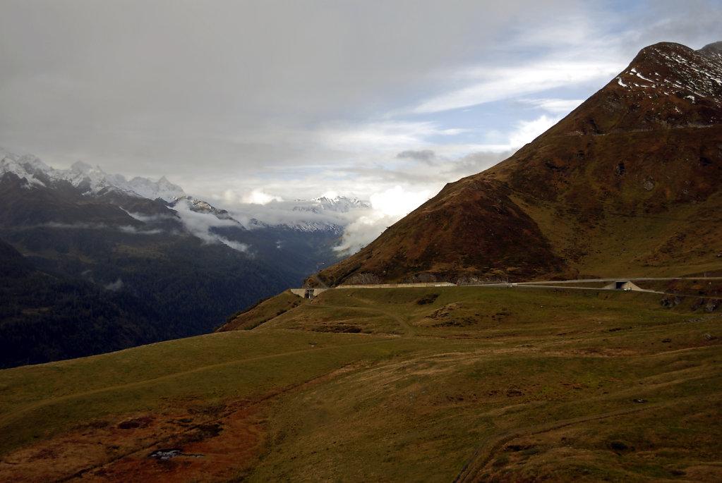 schweiz - gotthardpass  - die passtraße teil 2