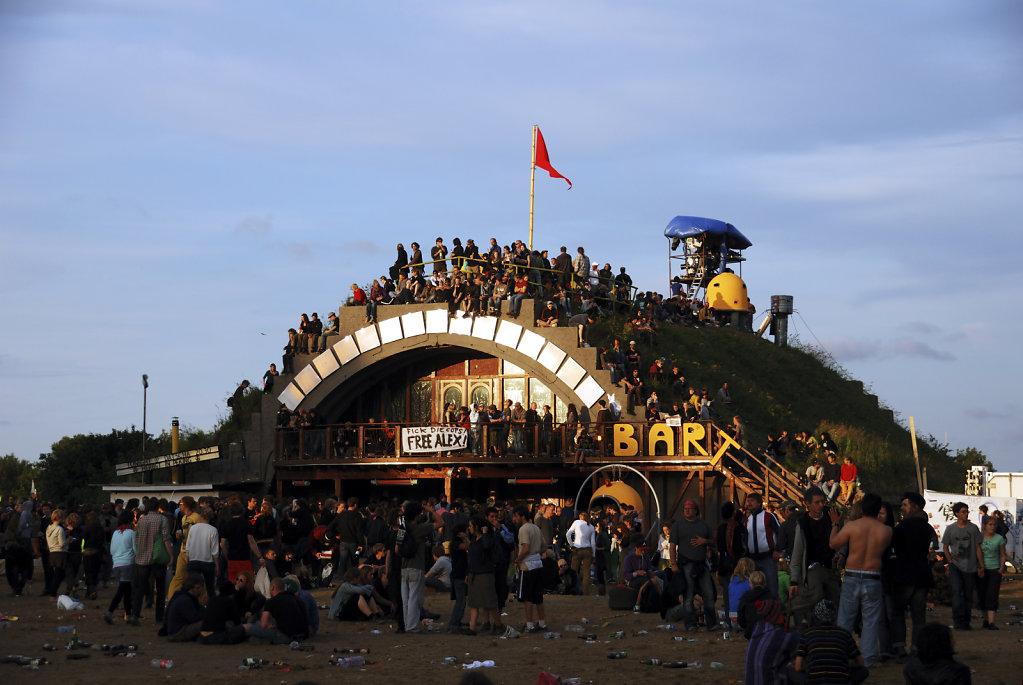 fusion festival 2009 (13)  - letzte sonnenstrahlen