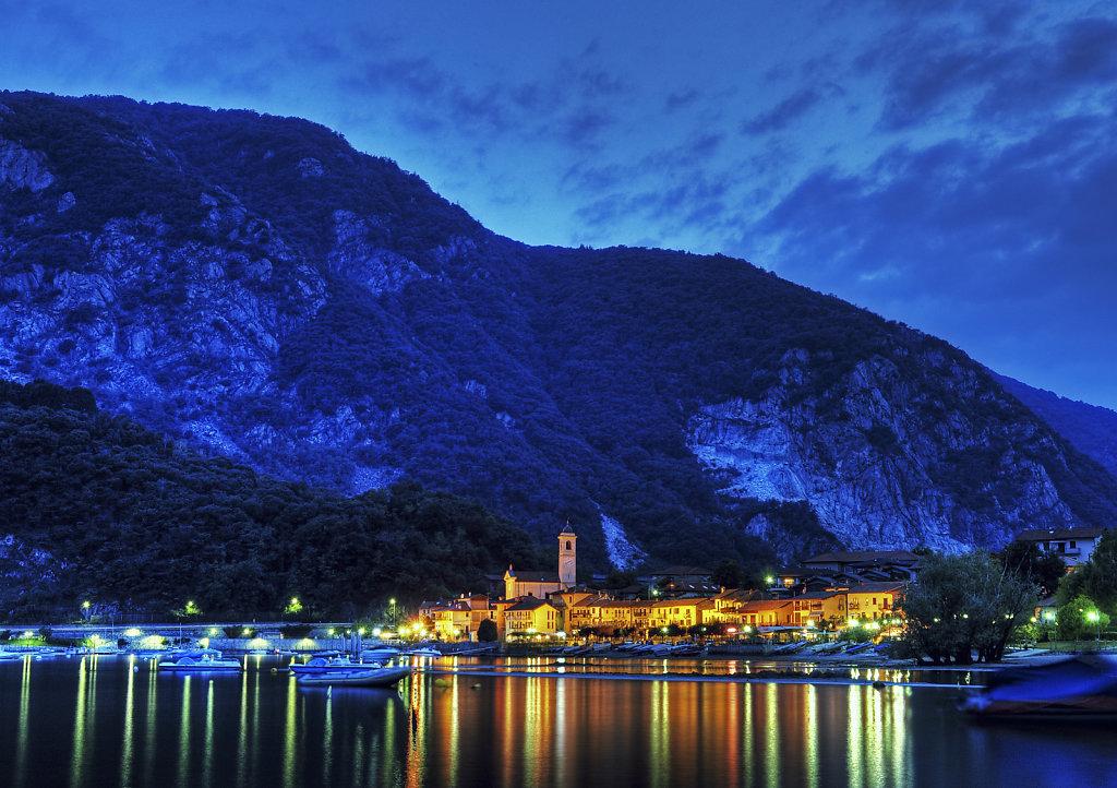 lago maggiore - blaue stunde