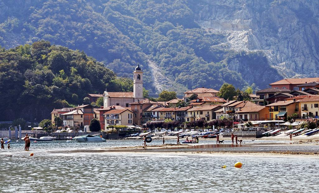 lago maggiore - am strand