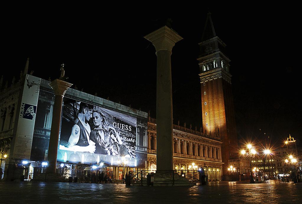 venedig (120) - die piazzetta san marco nachts