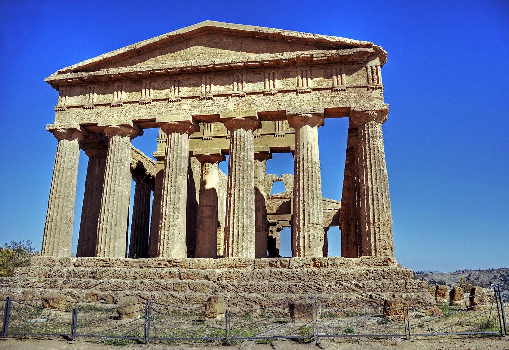 sizilien (03) - tal der tempel - concordiatempel teil 2