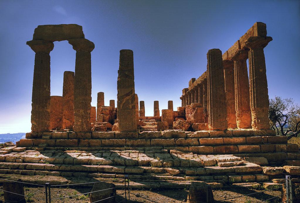 sizilien (12) - tal der tempel - junotempel teil 3