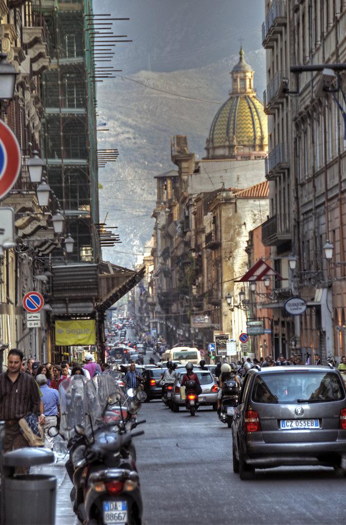 sizilien (72)  -palermo - via maqueda