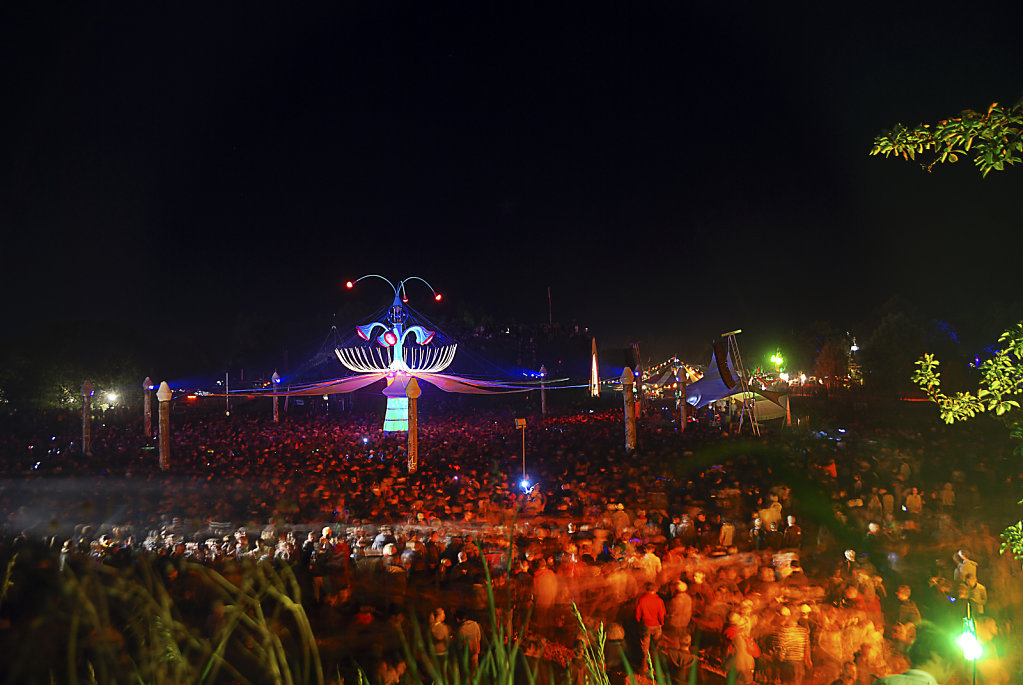 fusion festival 2008 nachts  (10) - turmbühne
