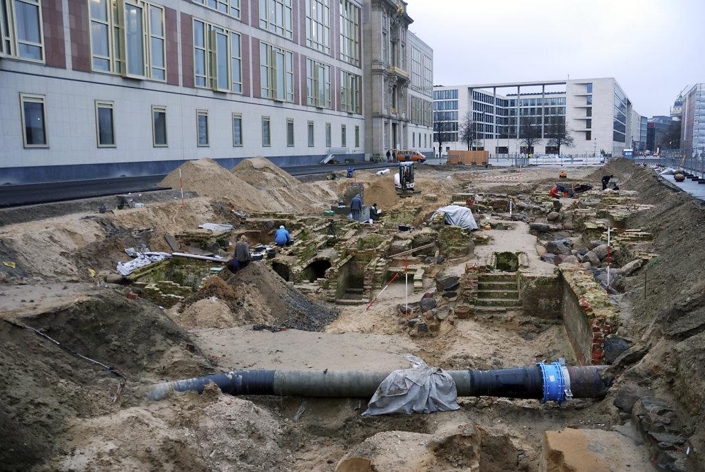 berlin mitte - archäologische spurensuche