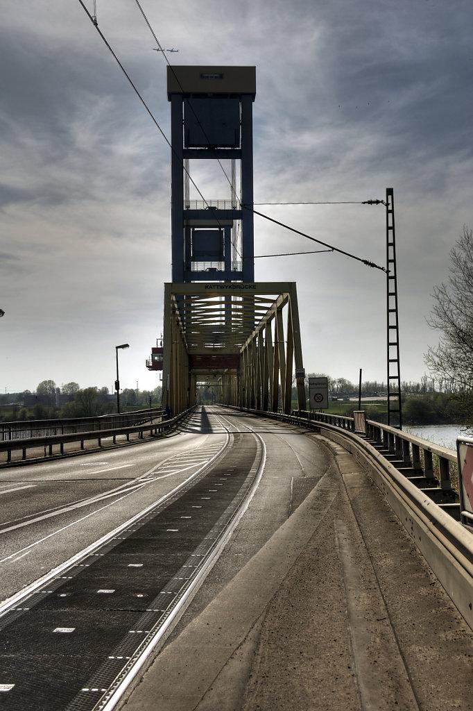 hamburg hafen - (105) -  kattwykbrücke