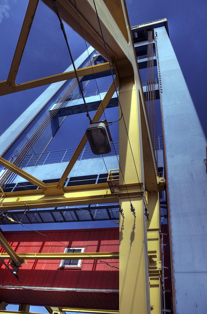 hamburg hafen - (106) -  kattwykbrücke teil 2