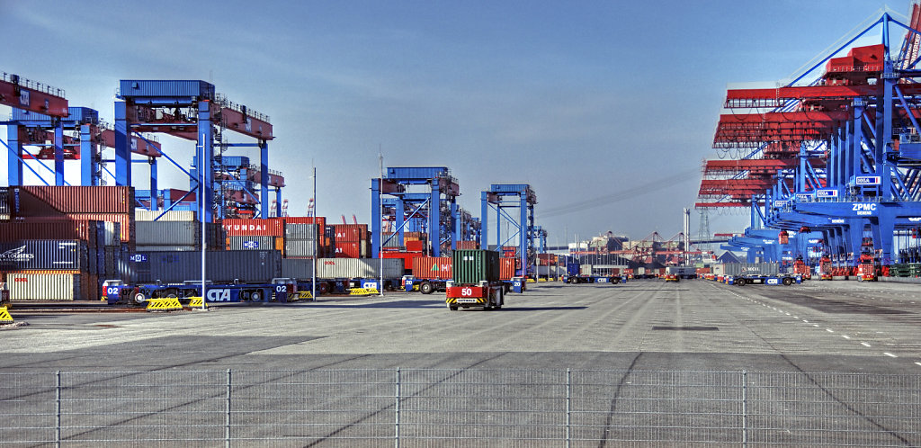 hamburg hafen - (114) - containerterminal altenwerder teil 5