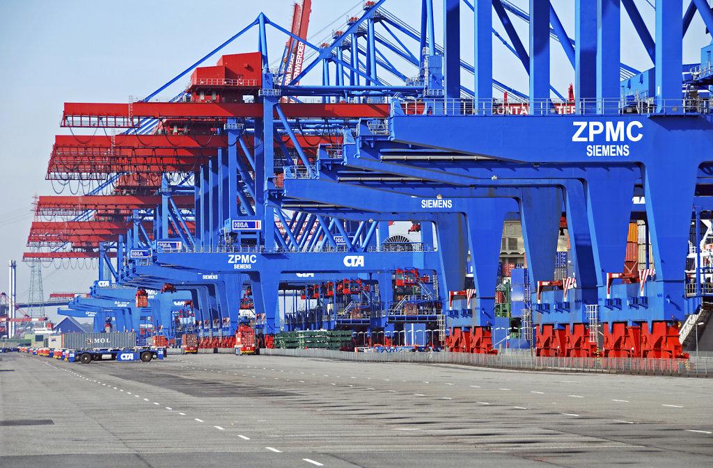 hamburg hafen - (115) - containerterminal altenwerder teil 6
