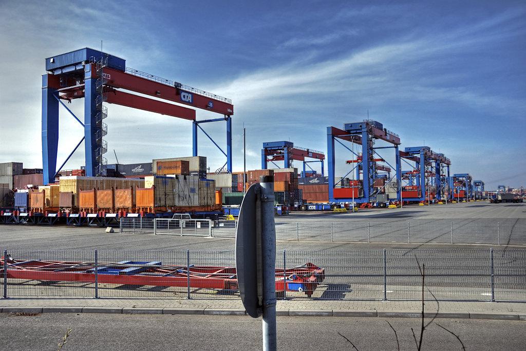 hamburg hafen - (116) - containerterminal altenwerder teil 7