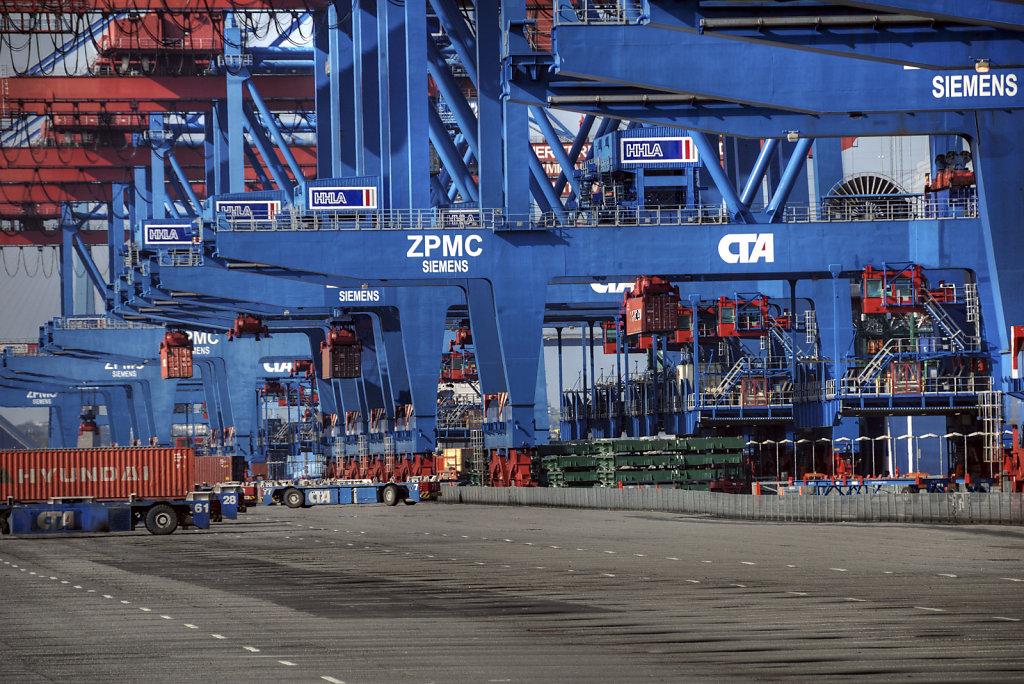 hamburg hafen - (117) - containerterminal altenwerder teil 8