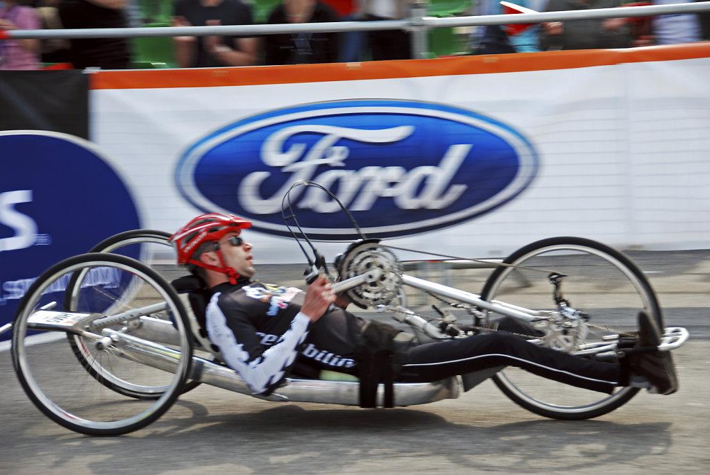 hamburg marathon 2009 – handbiker - speed