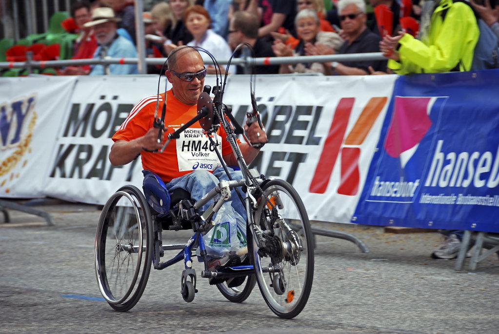 hamburg marathon 2009 – handbiker