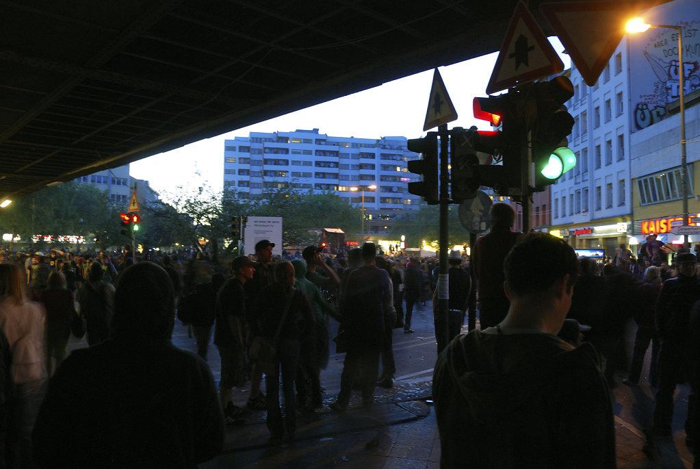 1.mai 2009 - kottbuser tor - nach der revolutionären 1.mai demo