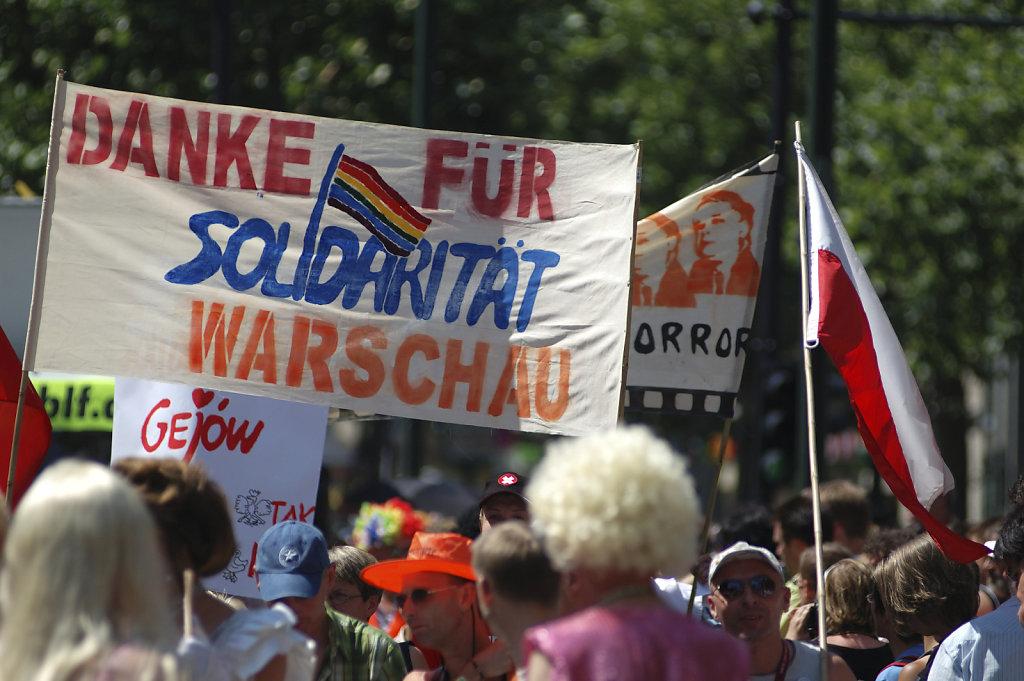 berlin csd 2006 - solidarität