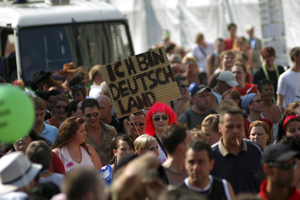 berlin csd 2006 - ich bin deutschland