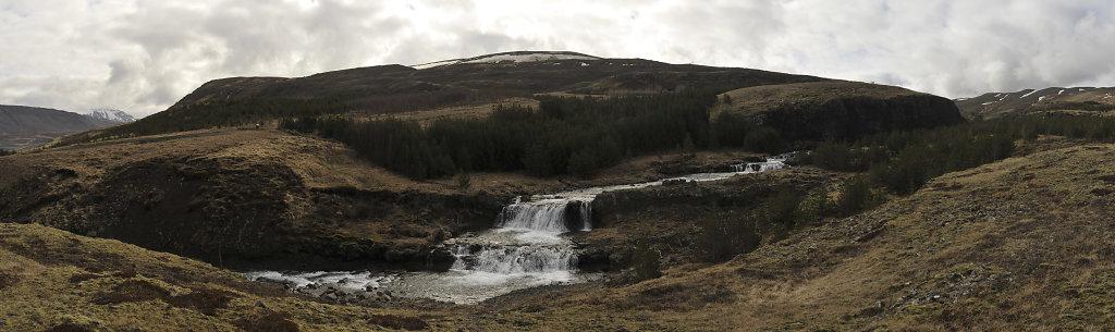 island – hvalfjörður (10) - teilpanorama nummer vier