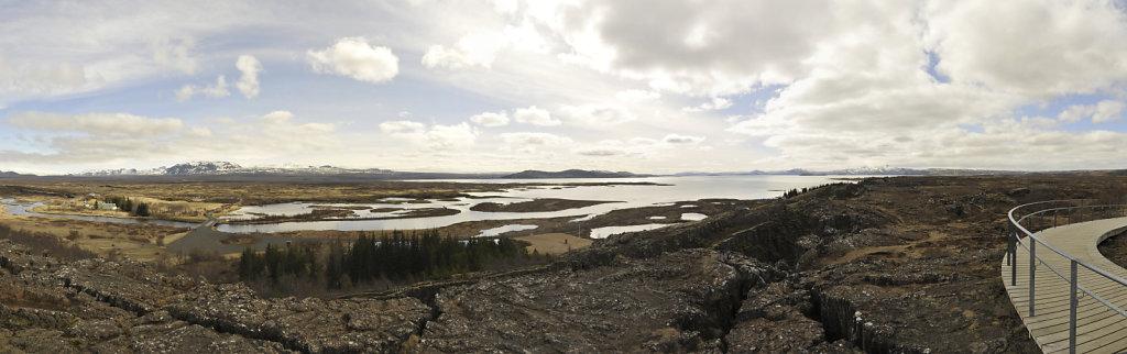 island –  þingvellir (04) - teilpanorama 180°
