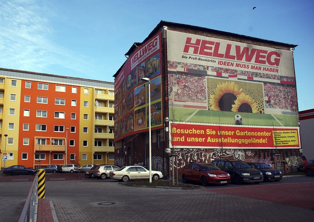 berlin – friedrichshain  -werbeträger