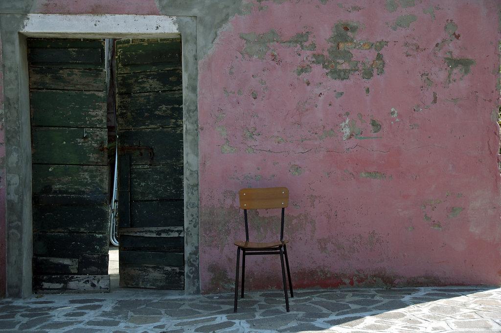 burano 7- der stuhl