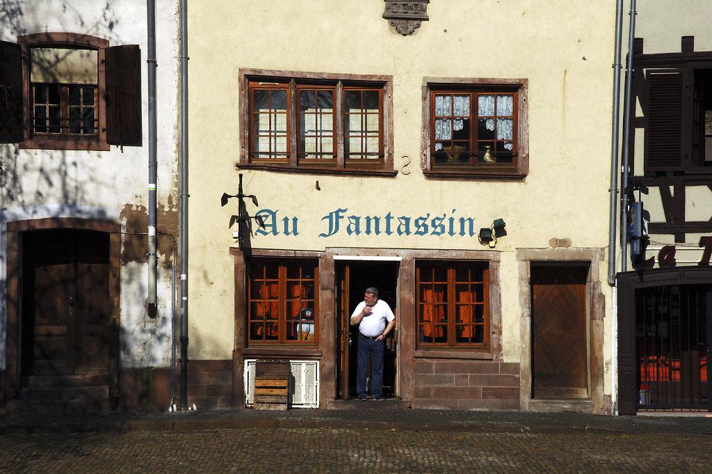 straßburg - teil zweiundsiebzig -an den ufernder ill -am mittag