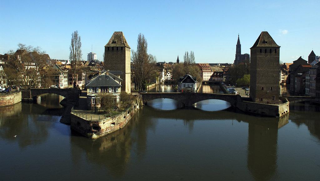straßburg - teil  fünfundfünfzig -an den ufernder ill -teil e