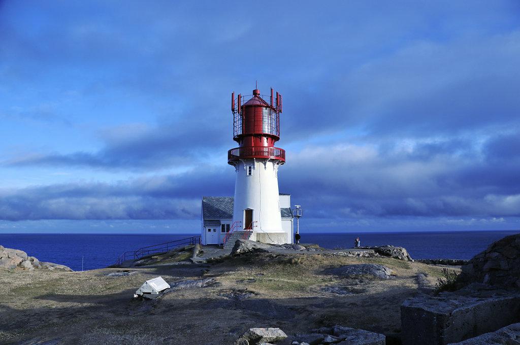 norwegen (02) - kap lindesnes - der leuchtturm