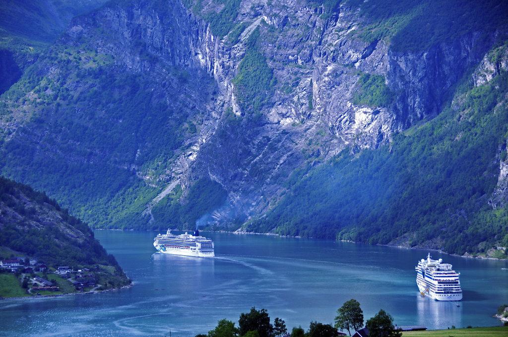 norwegen (111)  - geiranger - aufstieg zur alm