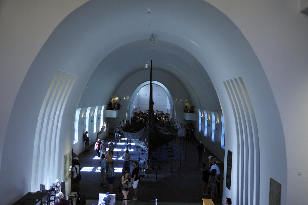norwegen (171)  - oslo - wikingerschiffhaus museum