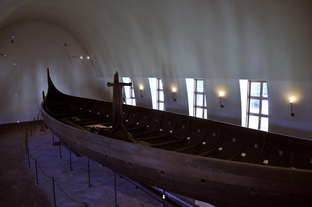 norwegen (167)  - oslo - wikingerschiffhaus museum