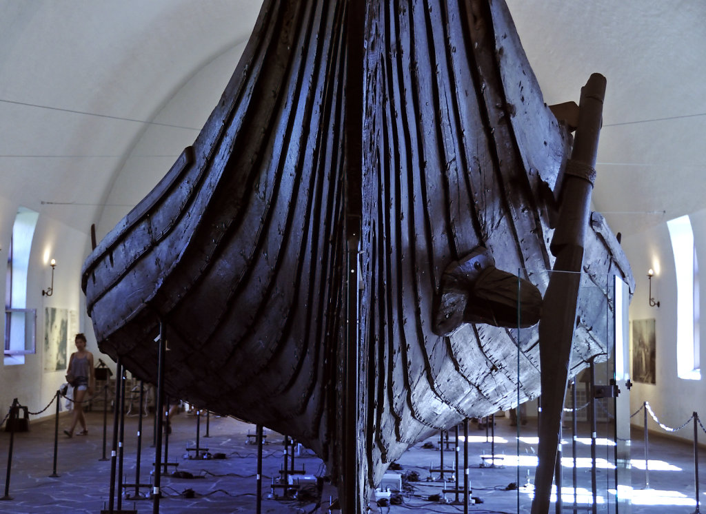 norwegen (168)  - oslo - wikingerschiffhaus museum