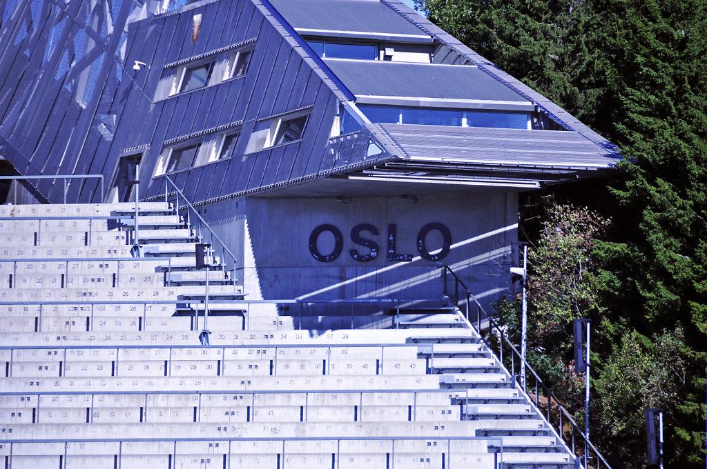 norwegen (131)  - oslo - holmenkollen