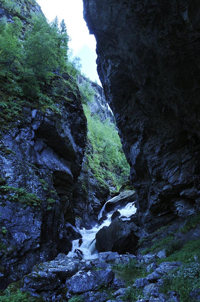 norwegen (108)  - geiranger - aufstieg zur alm