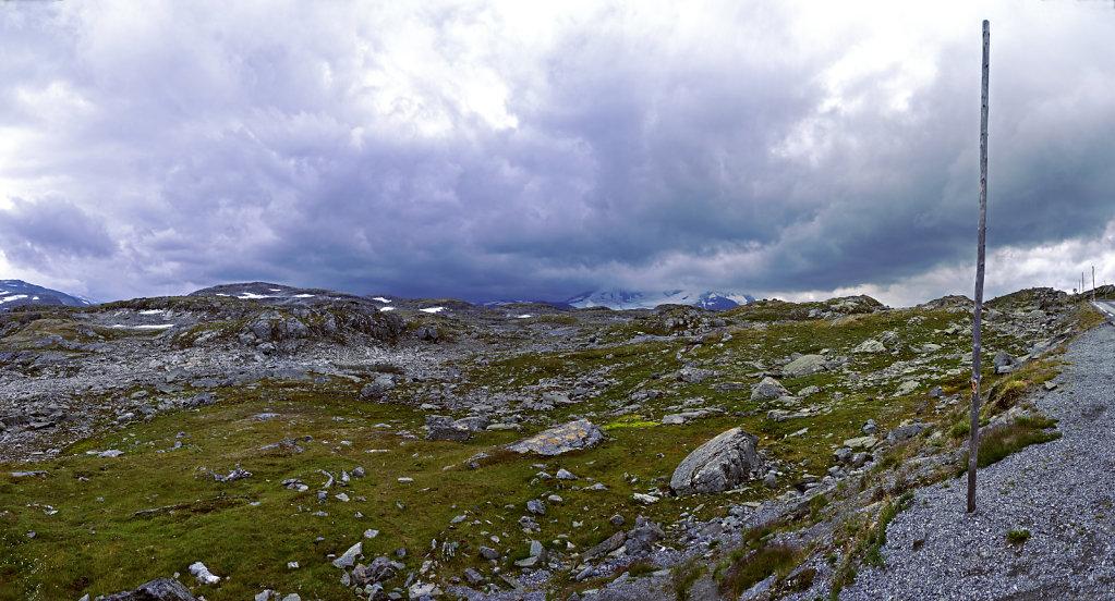 norwegen (95)  - unterwegs auf der 55 - teilpanorama teil 6