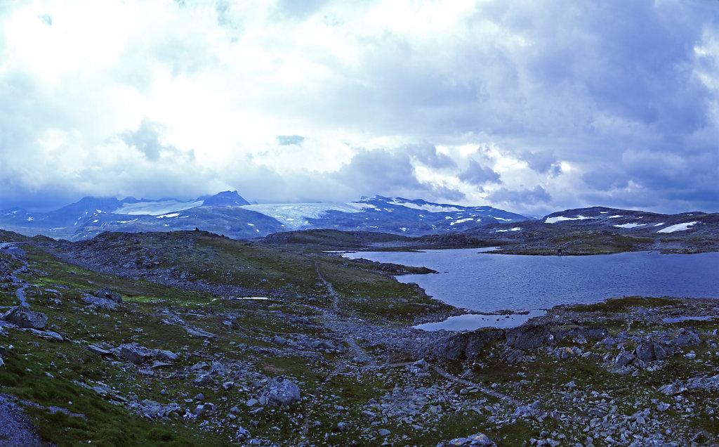 norwegen (92)  - unterwegs auf der 55 - teilpanorama teil 5