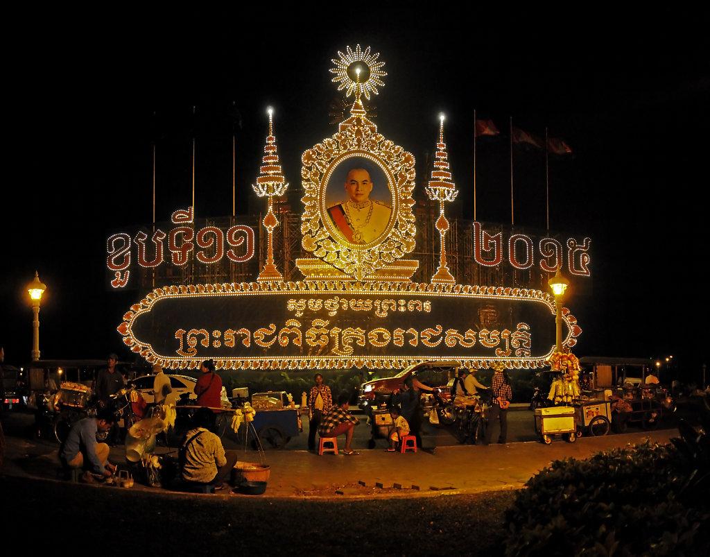 kambodscha - phnom penh - nachts (09) -teilpanorama