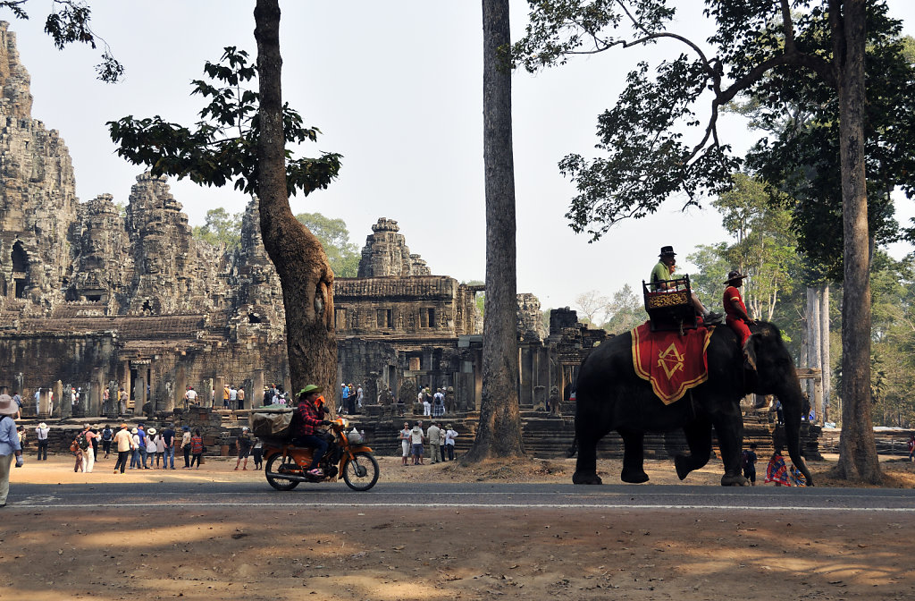 kambodscha - tempel von angkor - angkor thom - bayon (07)