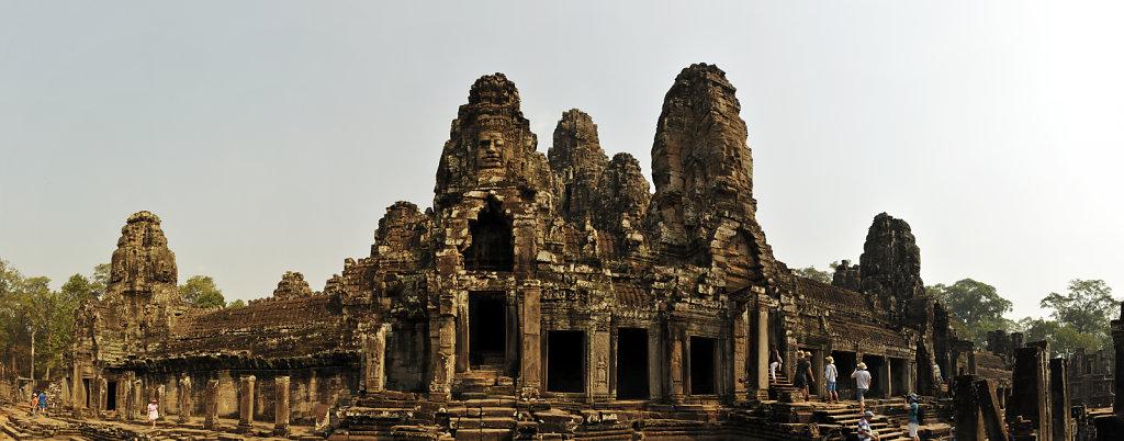 kambodscha - tempel von angkor - angkor thom - bayon (20) - teil