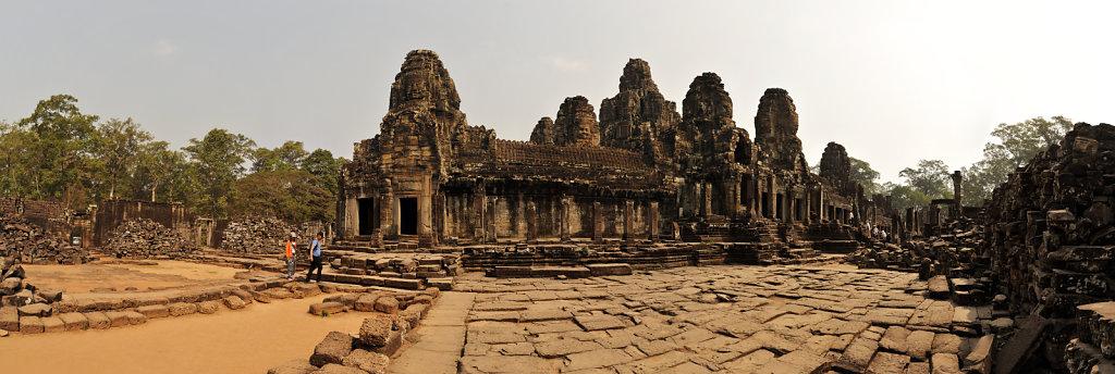 kambodscha - tempel von angkor - angkor thom - bayon (25) - teil
