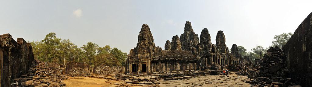 kambodscha - tempel von angkor - angkor thom - bayon (26) - teil