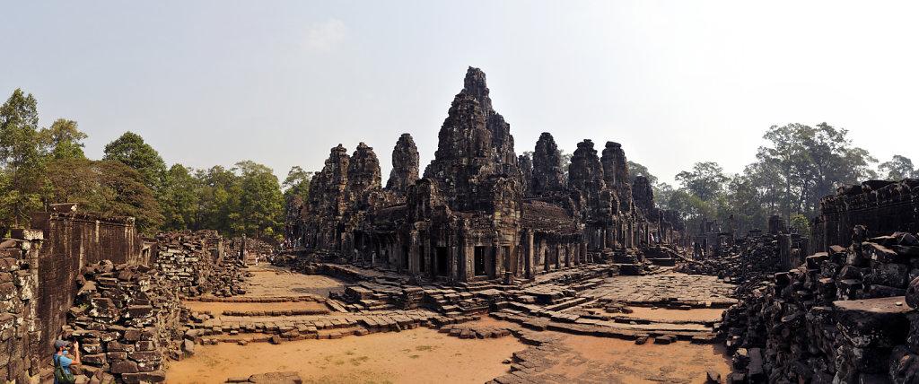 kambodscha - tempel von angkor - angkor thom - bayon (27) - teil