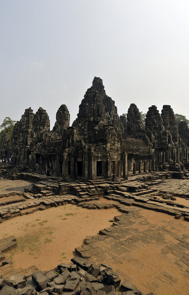 kambodscha - tempel von angkor - angkor thom - bayon (29) - teil