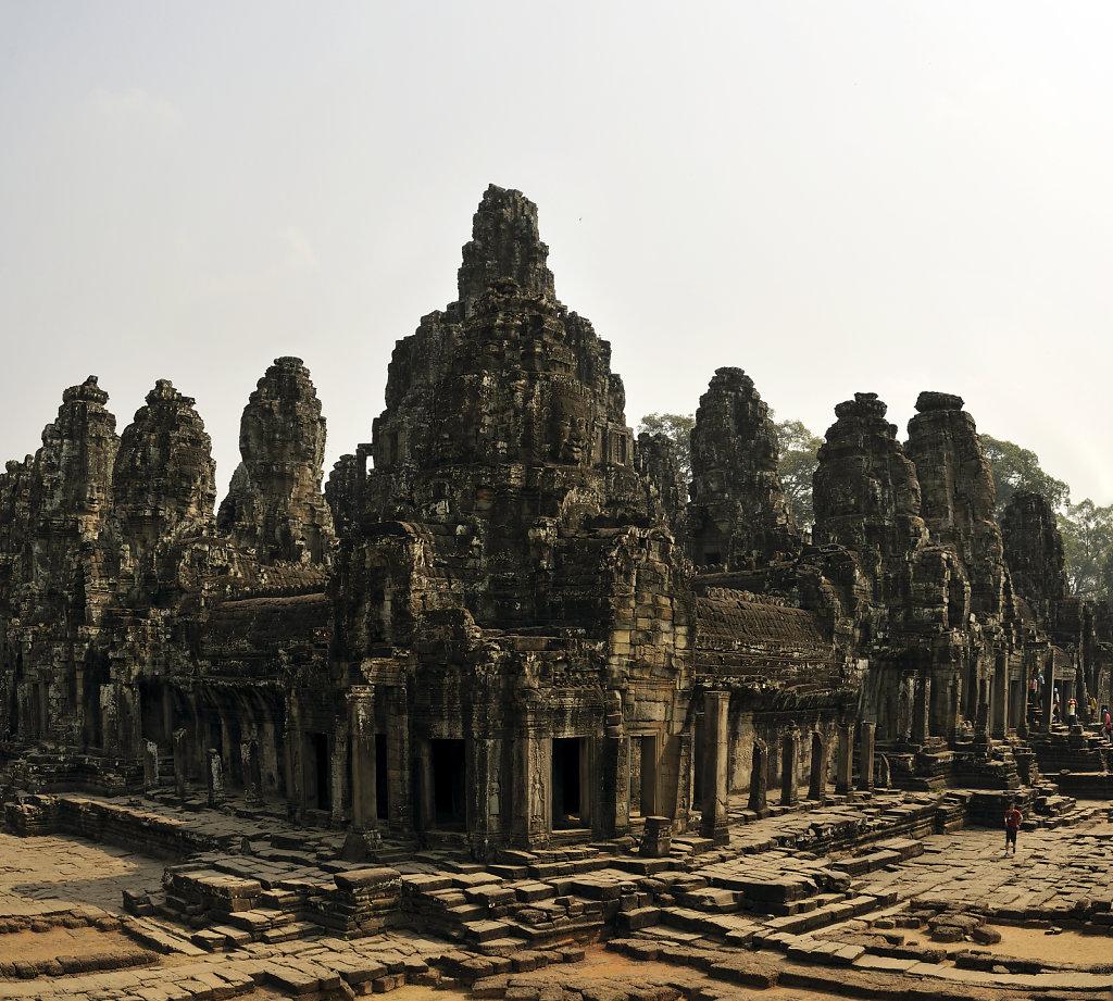 kambodscha - tempel von angkor - angkor thom - bayon (30) - teil