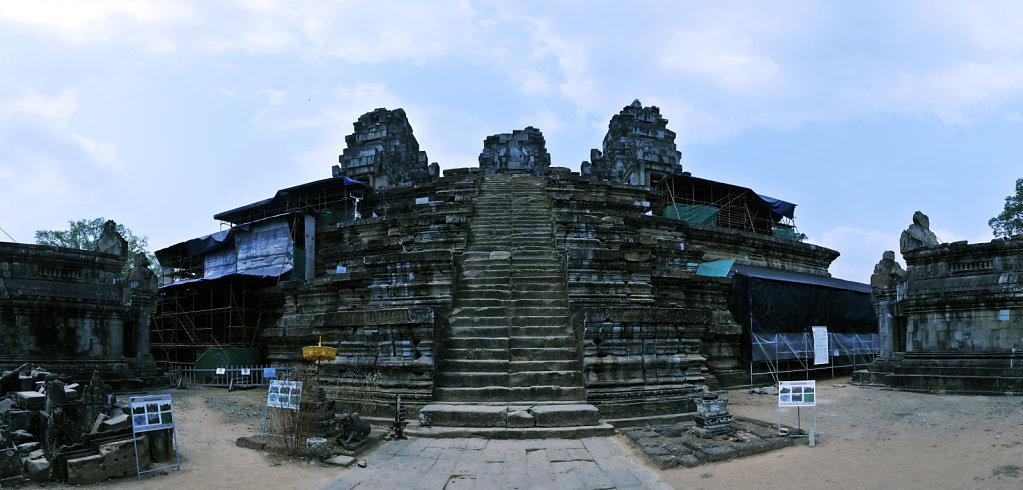 kambodscha - tempel von anghor - ta keo (12) - teilpanorama teil