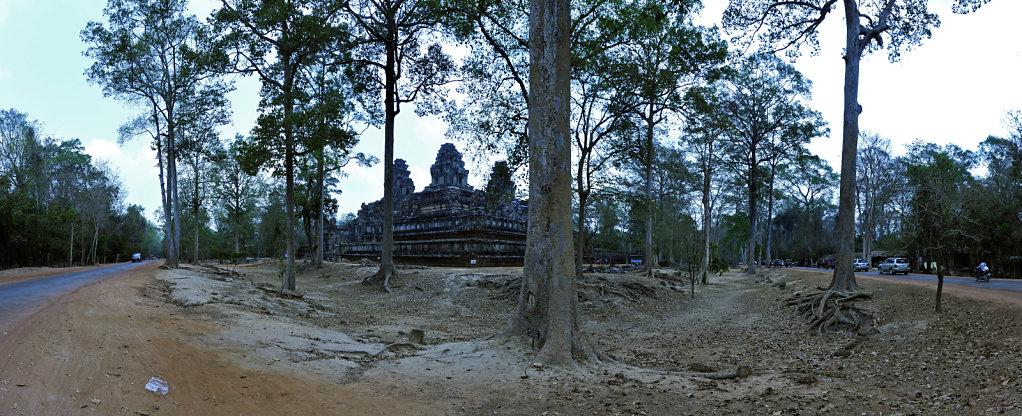 kambodscha - tempel von anghor - ta keo (20) - teilpanorama teil