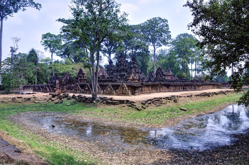 kambodscha - tempel von anghor -  banteay srei (09)